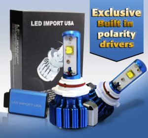 LED import USA led CREE Headlight Bulbs Kit H11 H9 H8 6000k 60w 7200LM