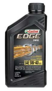 Castrol 06249 EDGE 5W-40 SPT review
