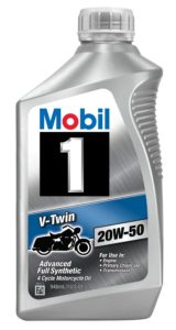 Mobil 1 96936 20W-50 V-Twin review