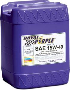 Royal Purple 05154 API-Licensed SAE 15W-40 review