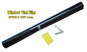 "Lexen 20"" X 10Ft. Roll 35% Medium Shade Window Tinting Film Tint Uncut"