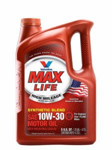 synthetic oil for high mileage engines