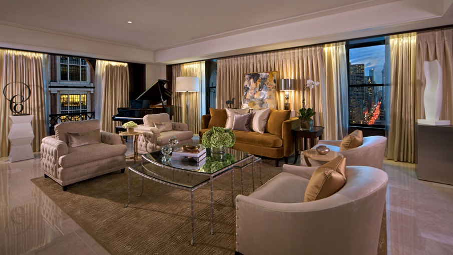 Luxury Travel: 7 Most Imposing Hotel Suites in the USA ...