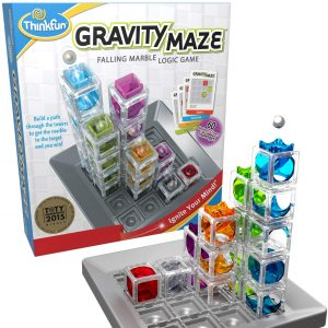 ThinkFun Gravity Maze Marble Run Brain Game