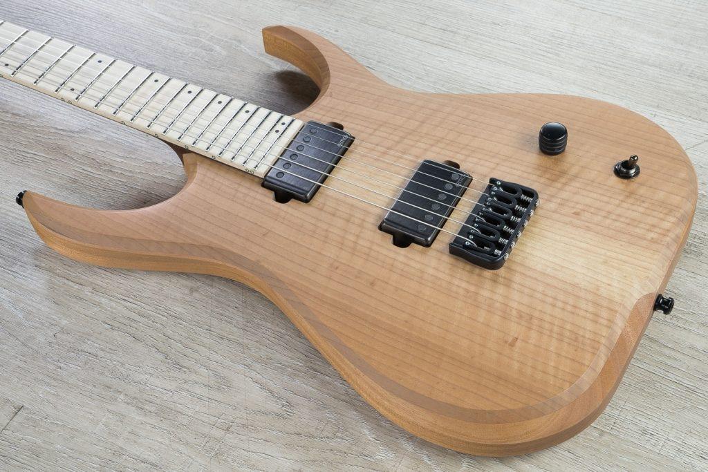 electric guitar body material Mahogany