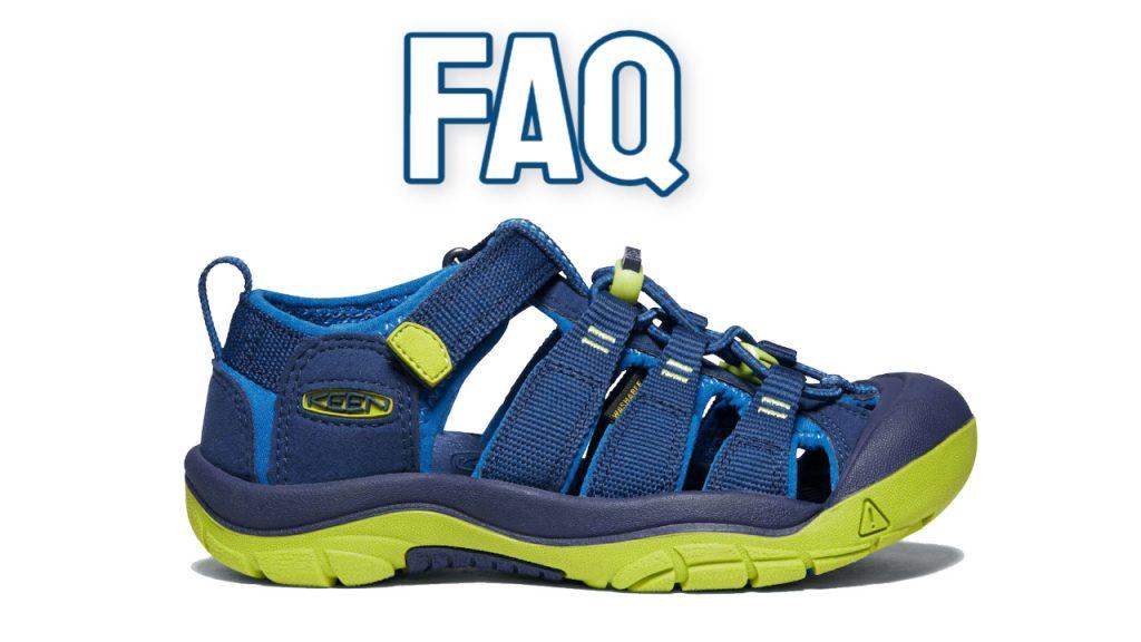 kids water shoes faq