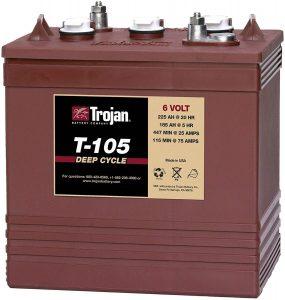 Trojan 6 Volt Battery T-105