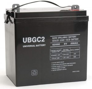 UBGC2 Sealed AGM 6V 200AH Battery