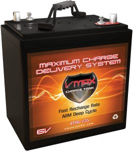 VMAX XTR6-235 6Volt 235ah Golf Cart Battery AGM GC-2
