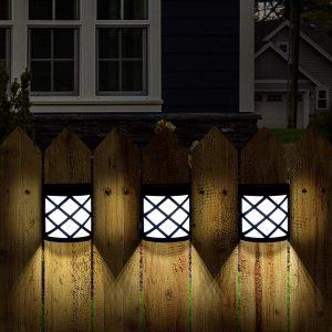 GIGALUMI Solar Fencing Lights