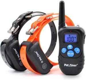 Petrainer 100% Waterproof Dog Shock Collar with Remote Dog Training Collar