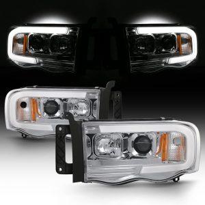 AKKON Tube Projector LED Headlights