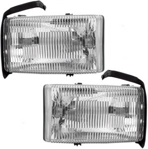 AUTOANDART Driver and Passenger Headlights Headlamps